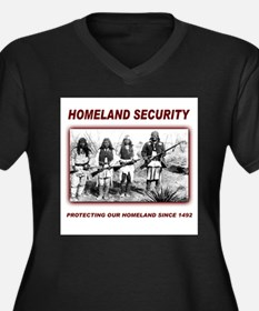 Homeland Security Native Pers Women's Plus Size V-