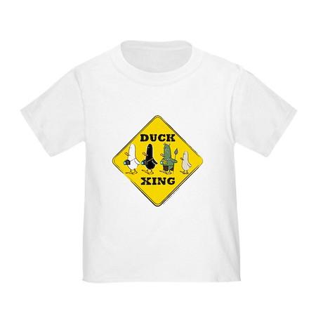 WTD: Duck Crossing Toddler T-Shirt