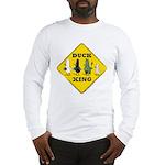 WTD: Duck Crossing Long Sleeve T-Shirt