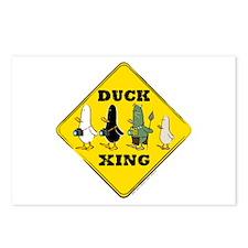 WTD: Duck Crossing Postcards (Package of 8)