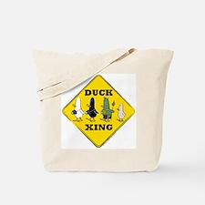 WTD: Duck Crossing Tote Bag