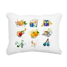 Leisure activity and ref Rectangular Canvas Pillow