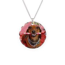 Party Animal Dachshund Necklace