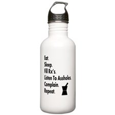 pharmacy eat listen to Water Bottle