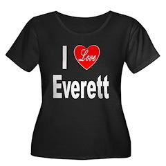 I Love Everett (Front) T
