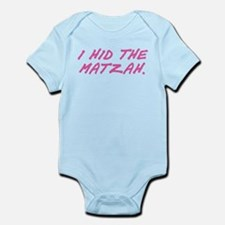 Matzah Pink Infant Bodysuit