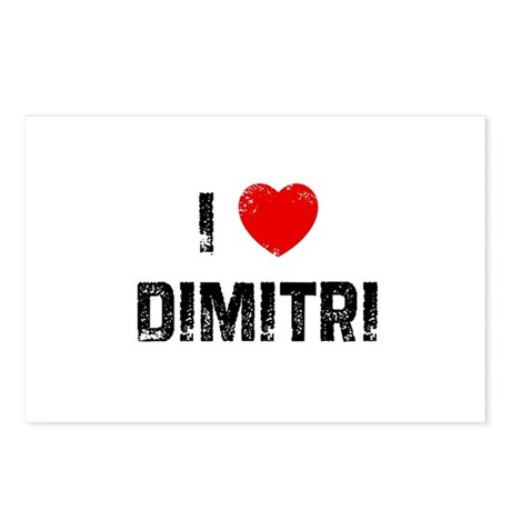I * Dimitri Postcards (Package of 8)