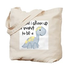 When I Grow Up Dinosaur Tote Bag