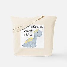 When I Grow Up Dinosaur Tote Bag