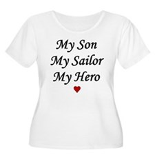 My Son Sailor Hero Navy T-Shirt