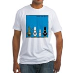 WTD: Blue Album Fitted T-Shirt