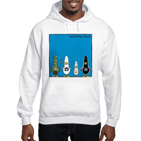 WTD: Blue Album Hooded Sweatshirt