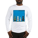 WTD: Blue Album Long Sleeve T-Shirt