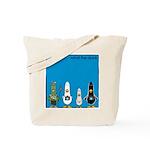 WTD: Blue Album Tote Bag