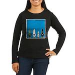 WTD: Blue Album Women's Long Sleeve Dark T-Shirt