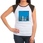 WTD: Blue Album Women's Cap Sleeve T-Shirt
