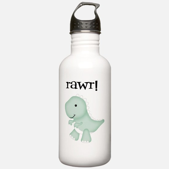 Rawr T-Rex Dinosaur Water Bottle