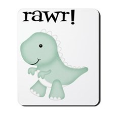 Rawr T-Rex Dinosaur Mousepad