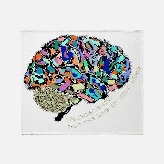 Mind-Life 2 Throw Blanket