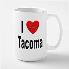 I Love Tacoma Mug