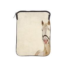 White horse. iPad Sleeve