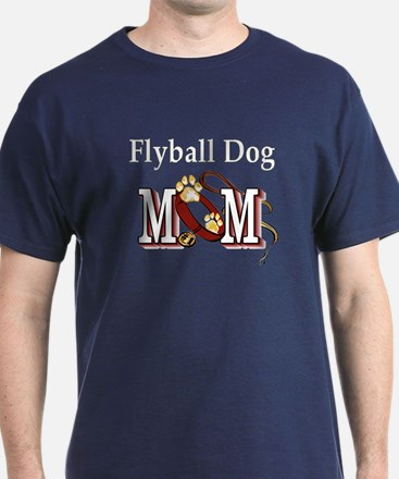 Flyball Dog Mom T-Shirt