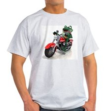 Frog riding motorcycle T-Shirt