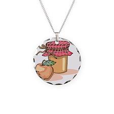 Apple Butter Jam Necklace