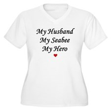 My Husband Seabee Hero T-Shirt