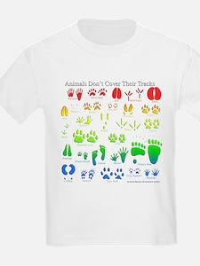 Rainbow 3D Animal Tracks T-Shirt