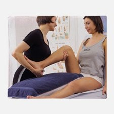 Physiotherapy Throw Blanket