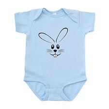Rabbit Face Infant Bodysuit