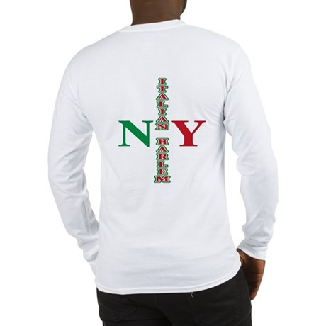 Italian Harlem Long Sleeve T-Shirt