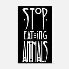 Stop Eating Animals Decal