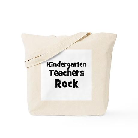 Kindergarten Teachers Rock Tote Bag
