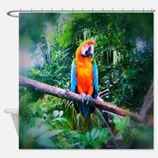 Martinique Macaw Shower Curtain