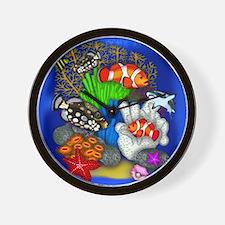 Tropical Fish Wall Clock