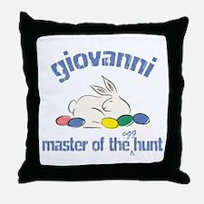 Easter Egg Hunt - Giovanni Throw Pillow