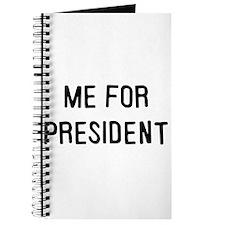 Me for president Journal