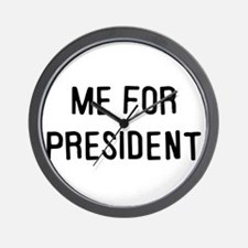 Me for president Wall Clock