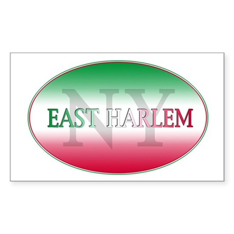 Italian Harlem Rectangle Sticker