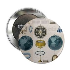 """Magnetism and electromagnetism 2.25"""" Button"""