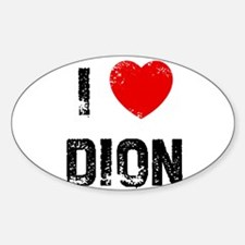 I * Dion Oval Decal