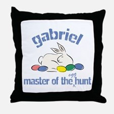 Easter Egg Hunt - Gabriel Throw Pillow