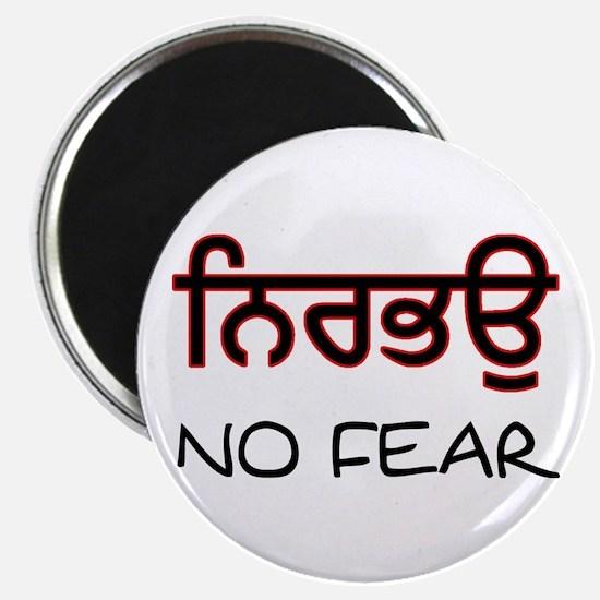 Nirbhau - No Fear Magnet
