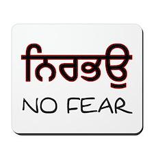 Nirbhau - No Fear Mousepad