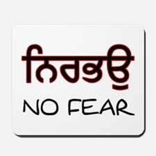 Nirbhau - No Fear Mousepad
