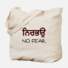Nirbhau - No Fear Tote Bag