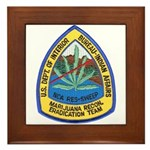 BIA Marijuana Recon Framed Tile