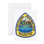 BIA Marijuana Recon Greeting Cards (Pk of 10)